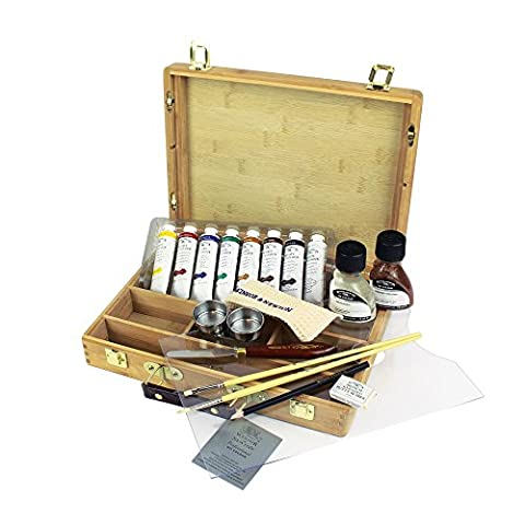 Winsor & Newton Artists' Oils Bamboo Boxset