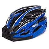 Babimax Fahrradhelm Erwachsene 56-63cm EPS Herren und Frauen Mountainbike Radsport (Blau und Schwarz)