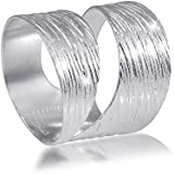 MATERIA 925 Sterling Silber Wickel Ring - Silber Band Ring breit mattiert inkl. Schmuckbox #SR-73