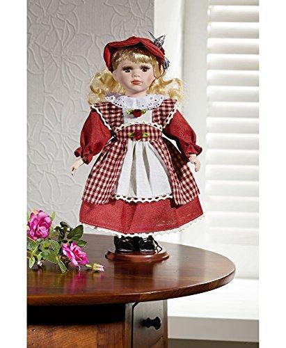 Kunststoff Puppe Display Ständer für  Puppe Zubehör Rose Red 10