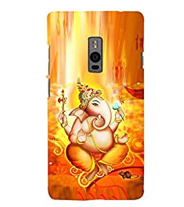 Fuson Designer Back Case Cover for OnePlus 2 :: OnePlus Two :: One Plus 2 (Ganesha GAnapathi lord GAnapthi Lord Ganesha Ganesha Idol)