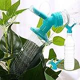 Rameng- 2 in1 Arroseur de Plante Pulvérisateur Plante Interieur en Plastique pour Jardin Patio Pelouse Bonsai