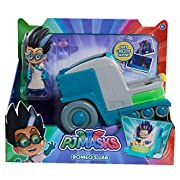 "Go ""into the night to save the day"" and re-live your favourite PJ Masks adventures with the PJ Masks Vehicle and Figure assortment! Pounce into action with Cat Boy and his stealthy Cat Car, Fly to the rescue with Owlette and her soaring Owl G..."