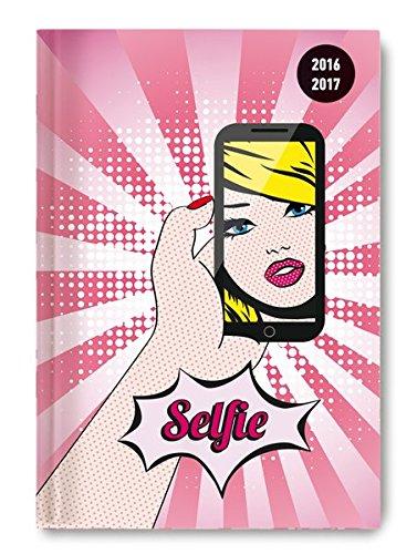Preisvergleich Produktbild Collegetimer Selfie2016/2017 - Schülerkalender A5 - Day By Day - 352 Seiten