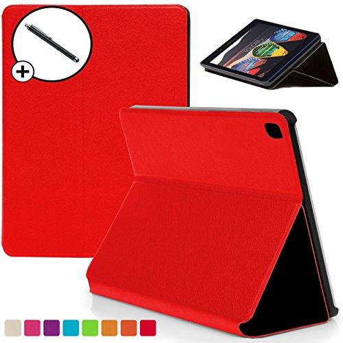 Forefront Cases Lenovo Tab3 7 Essential 17,7 cm Hülle Schutzhülle Tasche Smart Case Cover - Dünn mit Rundum-Geräteschutz + Stift (ROT) -