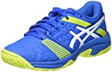 ASICS Gel-Blast 7 GS, Chaussures de Handball Mixte Enfant, Noir (Black/Sour Yuzu 003), 37.5 EU
