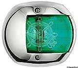 OSCULATI Navigationslicht | CLASSIC 12 | verschiedene Ausführungen, Gehäusefarbe:Edelstahl;Ausführung:steuerbord