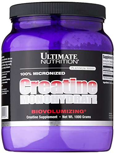 Ultimate Nutrition Micronized Creatine Monohydrate, 1er Pack (1 x 1 kg)