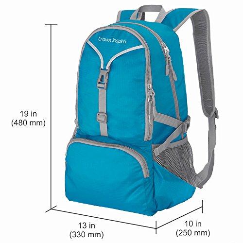 Imagen de  de viaje inspira 35 litros de peso ligero embalable  de senderismo  a mano plegable camping al aire libre, de la escuela, de ciclismo alternativa