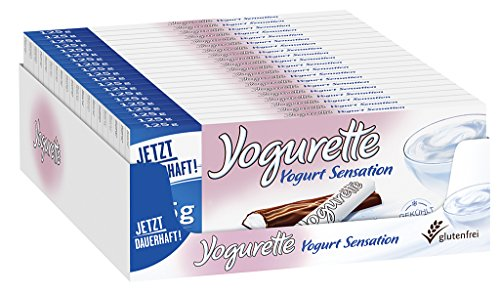 Yogurette Yogurt Sensation, 20er Pack (20 x 125g Tafel) (Granatapfel Limited-edition)