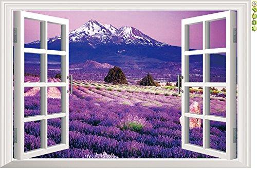 ecloud-shopr-ventanas-3d-romantico-paisaje-de-lavanda-vinilo-room-decor-wallpaper-impermeable