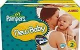 Pampers New Baby Größe 2(3–6kg) Jumbo Pack von 88Windeln