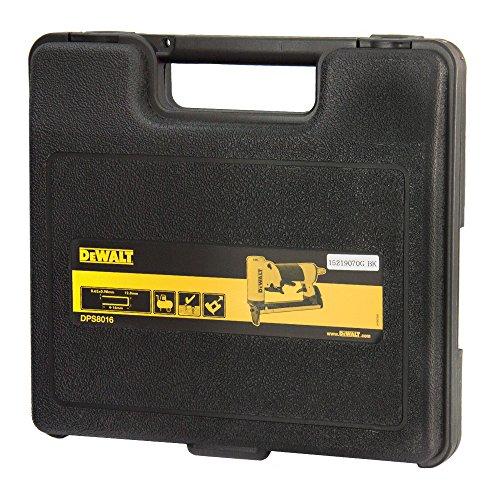 DeWalt DPS8016-XJ-Agrafeuse pour agrafes 0,63-0,90 mm Ø 80 mm de large et 12,8 4-16 mm de long