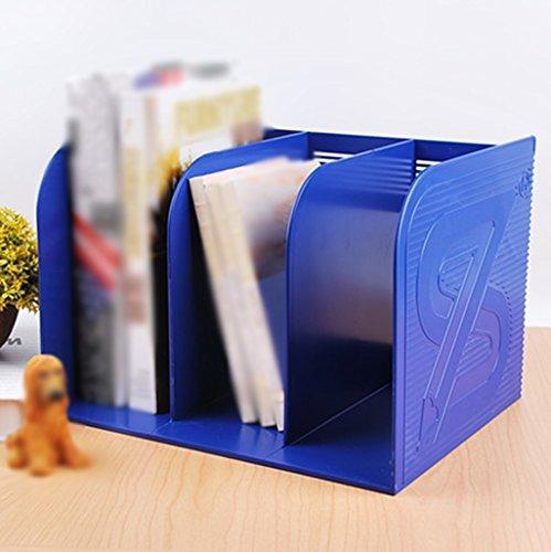 DFHHG® Estantería 29.5 * 23.3 * 20.5 Cm Tipo grueso Marco de la combinación Una escritura del tablero Marco de lectura Azul durable ( Color : #2 )
