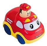 Bieco 19-002701F - Ein (1) Push and Go Feuerwehr-Auto von Bieco