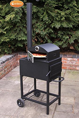 New Forno Steel Outdoor Pizza Oven Garden Patio Fire WoodBurner Log Burner