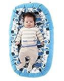 Nido para bebes nest reductor protector cuna para cama desenfundable 0...