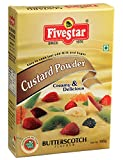 Five Star Custurd Powder 100 Gram Box-Butter Scotch Pack Of 4