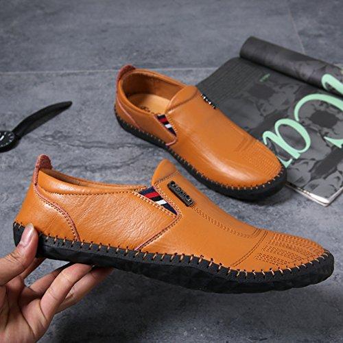 Feidaeu - Slippers Uomo Marrone