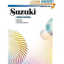 Suzuki Violin School: 2 (Suzuki Violin School, Violin Part)