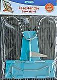 Leseständer Buchständer Buchstütze Metall Toppoint Farbe, Farbe:blau