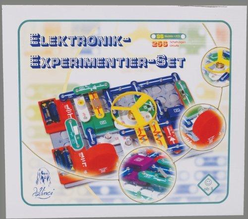 elektro kasten Da Vinci 362-80 - Elektronik Experimentier-Set mit 256 Experimenten