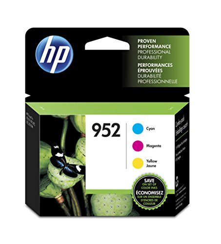HP 952Color Ink Cartridge Combo 3-pack 700Seiten cyan, magenta, gelb Tintenpatrone–Druckerpatronen (HP, cyan, magenta, gelb, Officejet Pro 8210, Standard Yield, 700Seiten, Leuchtmittel)