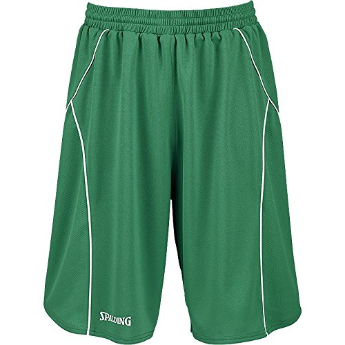 Spalding Basketball Crossover-Training Short [ROT] XL - - grün/weiß -