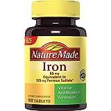 Nature Made - Fer 65 mg - 180 Comprimés