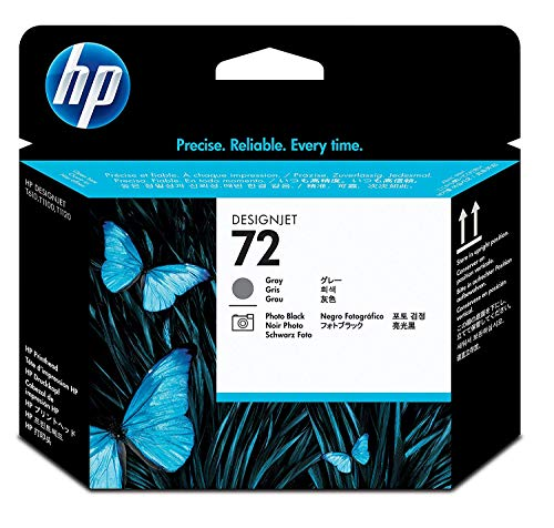 HP 72 Grau und Fotoschwarz Druckkopf für HP DesignJet (Designjet Hp 70)