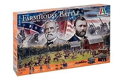Italeri 510006179 1:72 American Civil War:Farmhouse Battle Fahrzeug von Italeri