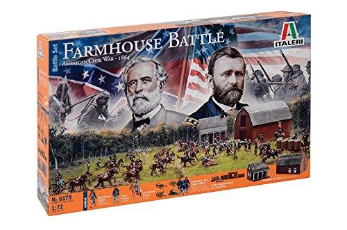 "Italeri 510006179"" 1:72 American Civil War:Farmhouse Battle Fahrzeug"