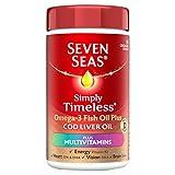 Seven Seas Omega-3 Fish Oil Plus Cod Liver Oil Plus Multivitamin 90 Capsules