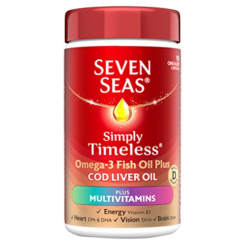 Seven Seas Omega-3 Fish Oil Plus Cod Liver Oil Plus Multivitamin 90 Capsules Test