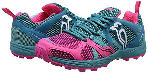 KOOKABURRA Illusion scarpe calzature Teal/Pink