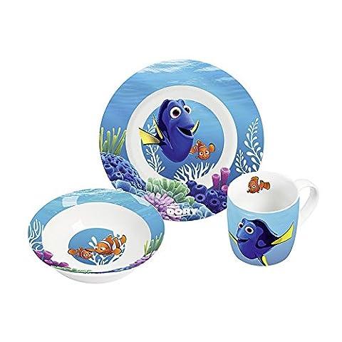 Disney 12789 Findet Dorie Porzellanset, mehrfarbig, 22,5 x 9,5 x 19,5 cm, 3 Einheiten (Porzellan Spielzeug)