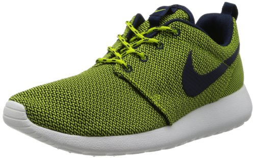 Nike Roshe One, Baskets Basses femme yellow