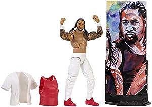 WWE Figura Elite Wrestlemania de acción, luchador Jimmy Uso (Mattel FMG27)