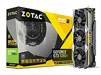 Zotac GeForce GTX 1080 TI AMP Extreme Core Edition 11GB GDDR5X 352Bit ZT-P10810F-10P Gaming (Oyuncu) Ekran Kartı