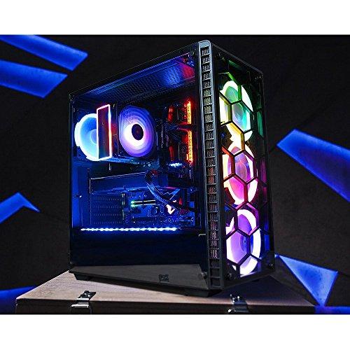 GameMachines Predator - Gaming PC - Intel Core i7 8700K - NVIDIA GeForce GTX 1080 - ASUS ROG STRIX GAMING Mainboard - RGB Beleuchtung & RGB Lüfter - 250GB SSD Samsung - 2TB Festplatte - 16GB DDR4 - WLAN - Windows 10 Pro