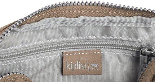 Kipling Multiple - Borse a tracolla Donna, Grau (Warm Grey), One Size Grigio (Warm Grey)