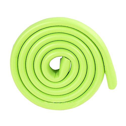2m / 6.5FT grün kindersicher Schrank Kantenschutz Chrom Türkante Stoßschutz mit doppelseitigen Klebebändern (Ecke Schrank Möbel Verwendet)