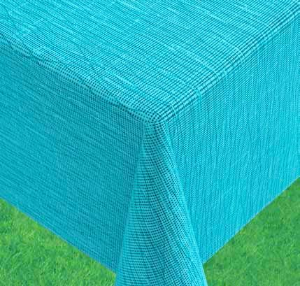 Gartentischdecke Miami, türkis, 160 x 210 cm, oval, 25898