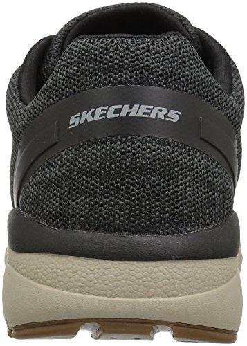 Skechers Herren Recent-Merven Laufschuhe Schwarz (Black)