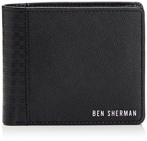 ben-sherman-gingham-billfold-nero-black-black-port