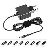 KFD 5V/5.25V 2A/3A Universel Bloc d'alimentation chargeur pour Nextbook 10.1' Andrews Tablette, Bluetooth Orateur Speaker, Raspberry pi, USB-HUB, Système de téléphonie résidentielle avec 8 Connecteur 2,5*0,7mm/3,5*1,35mm/4,0*1,7mm/4,8*1,7mm/5,5*2,5mm/3,0*1,0mm/micro USB/USB-C [TUV GS]