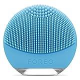 FOREO LUNA go Dispositivo de Limpieza Facial, piel Mixta, Azul
