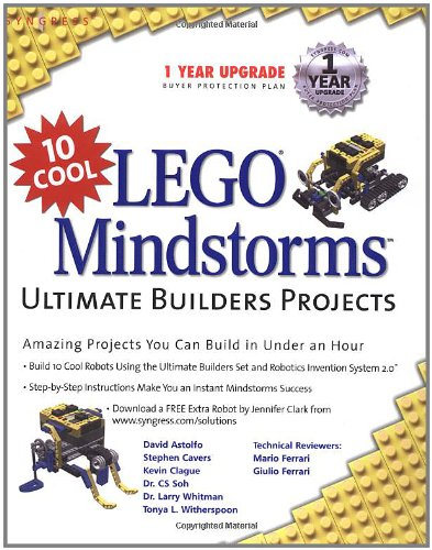 10 Cool Lego Mindstorm Ultimate Builders Projects: Amazing Projects You Can Build in Under an Hour