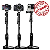 #3: Shopizone® Yunteng YT 1288 Bluetooth Selfie Stick For Apple, Samsung, HTC, Lenovo, One plus, Motorola, Nexus, Xiaomi Redmi Phones, Coolpad Notes