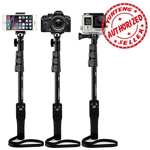 Shopizone® Yunteng YT 1288 Bluetooth Selfie Stick For Apple, Samsung, HTC, Lenovo, One plus, Motorola, Nexus, Xiaomi Redmi Phones, Coolpad Notes
